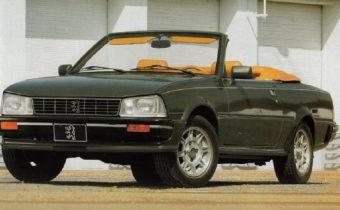 """Peugeot 505 Coupé et Cabriolet : """"Ohé Ohé 505 abandonnées""""..."""