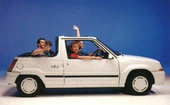 Renault Supercinq Belle Ile : la nostalgie cheveux au vent