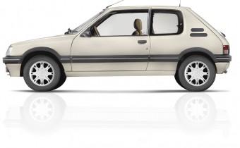 Peugeot 205 Gentry : la 205 des beaux quartiers
