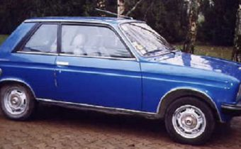 L'insolite 104 ZS de Madame Peugeot