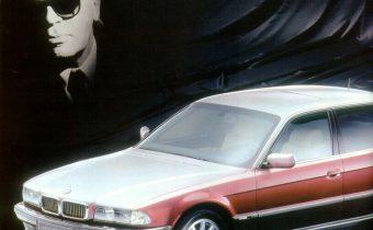 Les BMW série 7 (E32 et E38) de Karl Lagerfeld