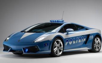 La police italienne se fait plaisir aux frais de Lamborghini