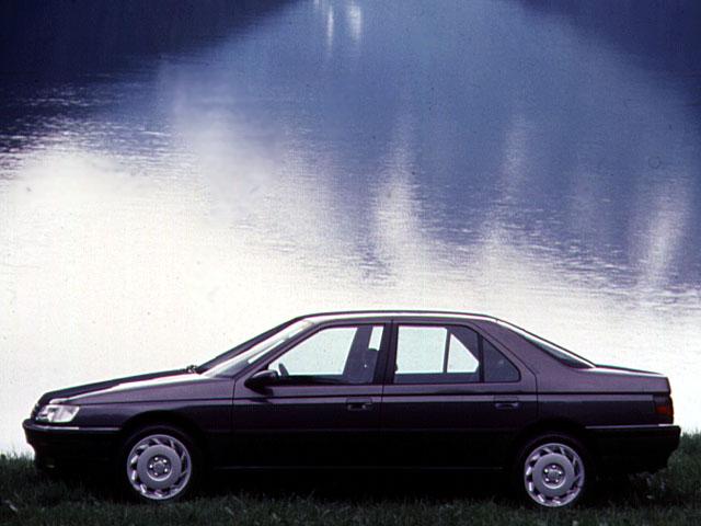 La Peugeot 605 aurait du être une tueuse d'allemande !