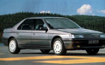 Peugeot 605 SV24 : faux départ