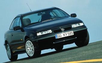 Opel Calibra : quand le blitz se lâche
