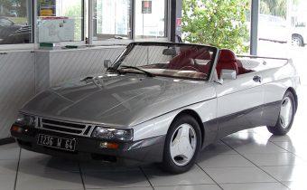"""Saab 900 Speeder (""""Speedster"""") 1986 : l'exemplaire unique est en France, à Bayonne !"""