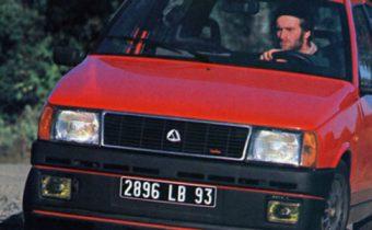 """Autobianchi Y10 Turbo """"AC"""" Chardonnet : la bombinette ultime"""