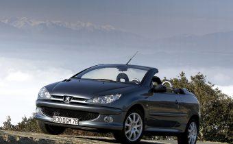 Peugeot 206 CC : le cabriolet moderne et abordable.