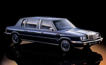 Chrysler LeBaron Executive: quand Chrysler se lance sur le marché de la Limo