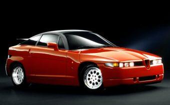 """Alfa Romeo SZ / RZ : """"il Mostro rosso"""""""