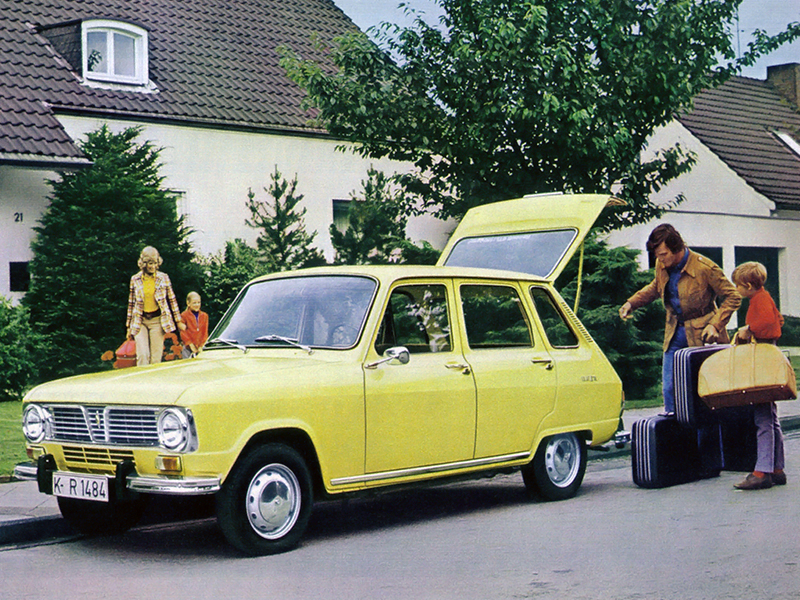 Renault 6 La Besogneuse