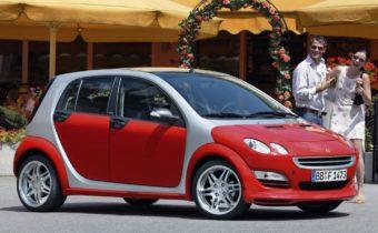 Smart ForFour : un four pour Mercedes