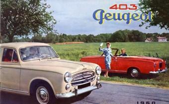 Peugeot 403 Cabriolet : le prix de la rareté, et de la célébrité !