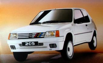 Peugeot 205 Rallye : du sport, rien que du sport