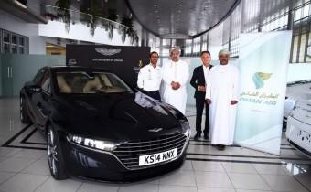 L'Aston Martin Lagonda dévoilée à Oman !