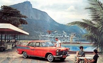 Simca Vedette : sa seconde vie brésilienne