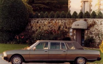 """Peugeot 604 Limousine """"HLZ"""" : l'amérique façon Heuliez"""