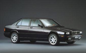 Maserati Biturbo berline 4 portes : une généalogie compliquée
