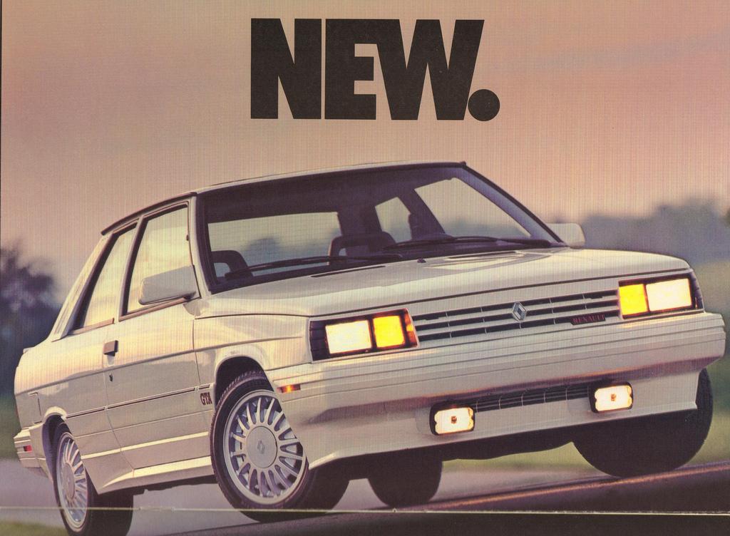 L'Alliance GTA, produite en 1987 à 3500 exemplaires.