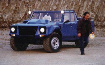 Les drôles de Lamborghini LM002 de Salvatore Diomante !