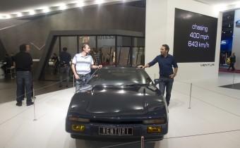 Venturi : l'America rentre en production 30 ans après la présentation de la Cup221 !
