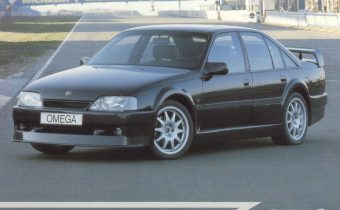 Opel Omega Evolution 500 : plus rare encore que l'Omega Lotus !