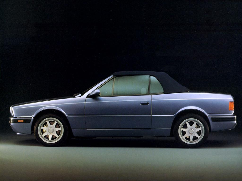 Maserati Biturbo Spyder : le joyau de la gamme