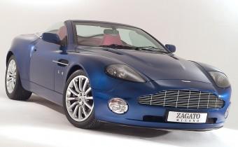 Aston Martin Vanquish Roadster Zagato : unique !