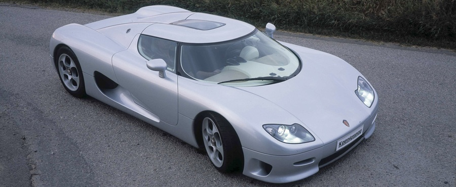 La première Koenigsegg commercialisée, la CC8S