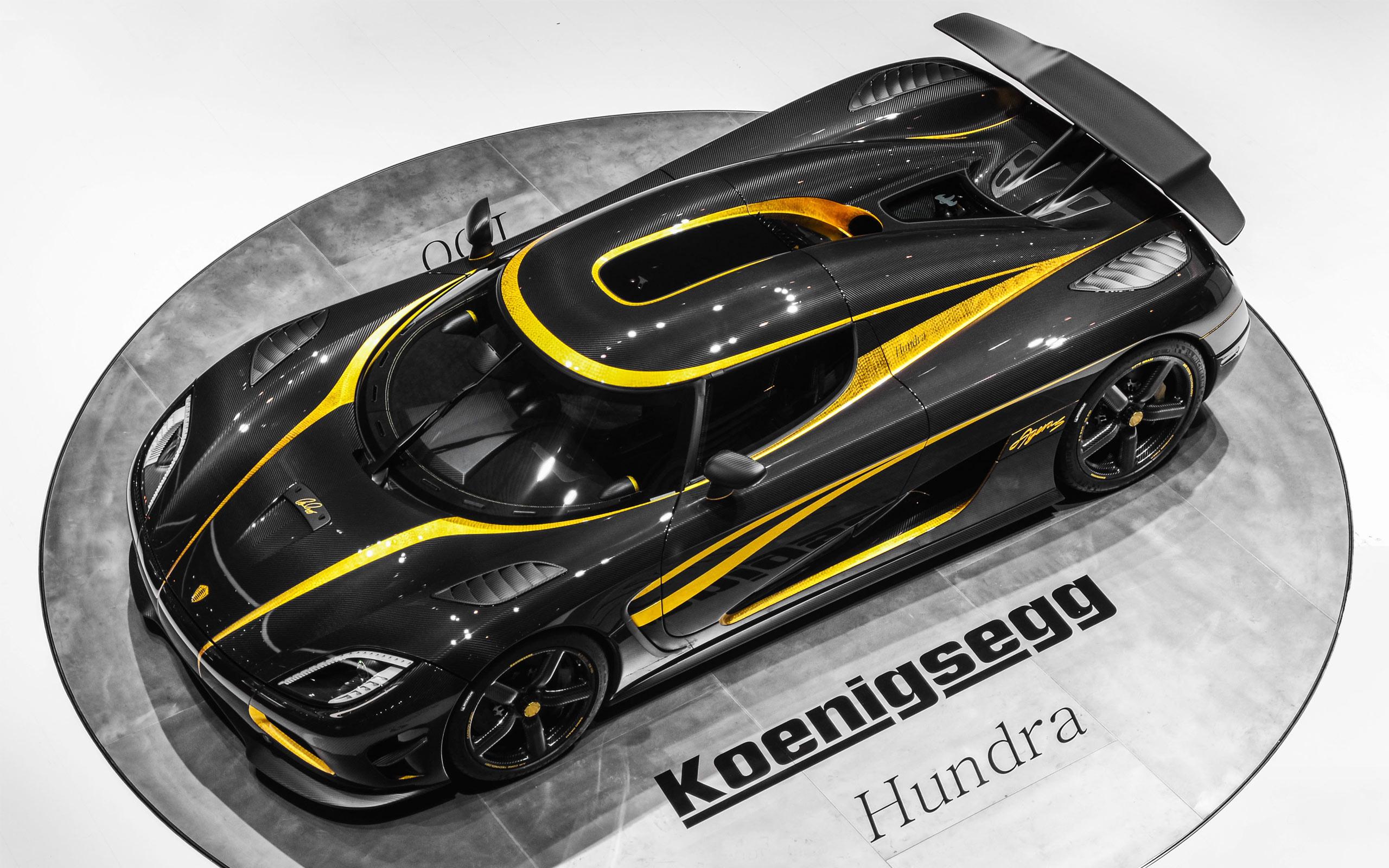 L'Agera Hundra, la 100ème Koenigsegg produite !