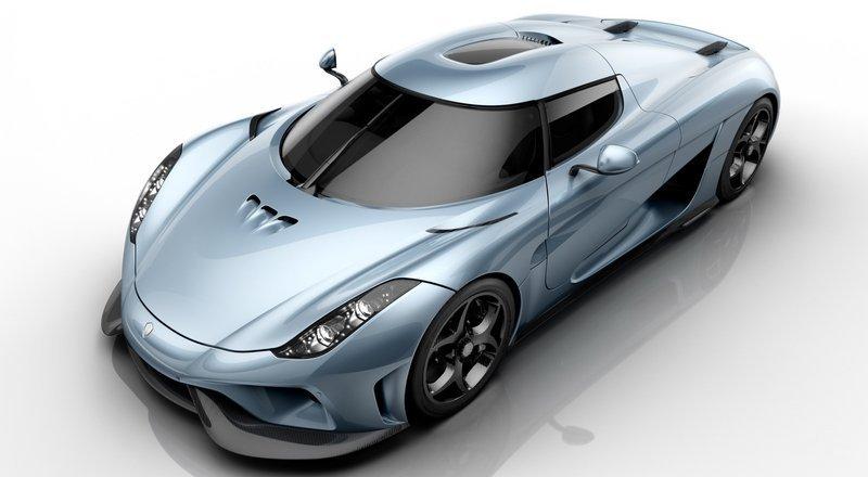 La Regera, présentée à Genève la semaine dernière, développe 1500 ch en hybride rechargeable !