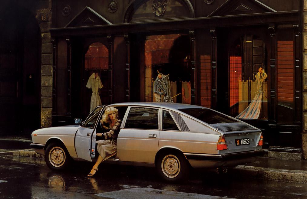 La Lancia Gamma, avec son hayon, ne séduira jamais les foules !