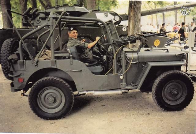 Les Hotchkiss ? Des Jeep Willys fabriquées sous licence américaine !