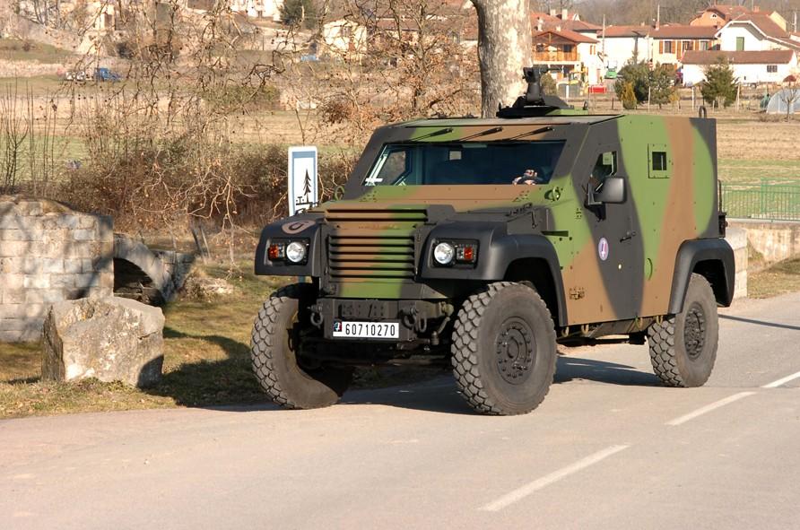 Le PVP produit par Panhard (Renault Trucks Defense)