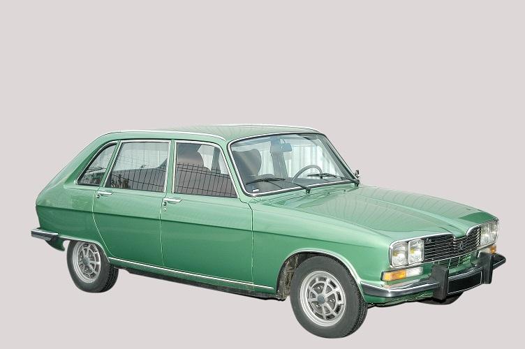 Renault 16 TX vert - 1975