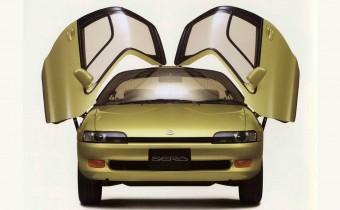 Toyota Sera : la voiture de Bioman !
