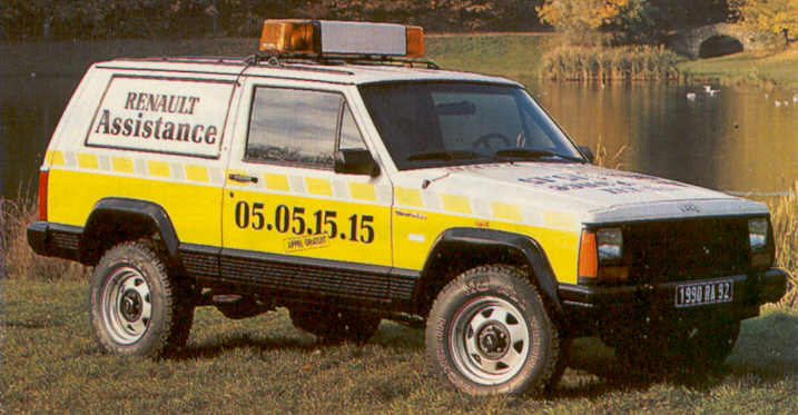 Renault assura la distribution des Jeep jusqu'en 1992