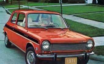 Simca 1204 USA: la frenchy de Chrysler !