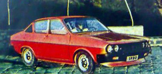 La Brasovia, prototype de 1979 !