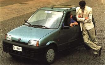Fiat Cinquecento : mamma mia !! (mój Boże)