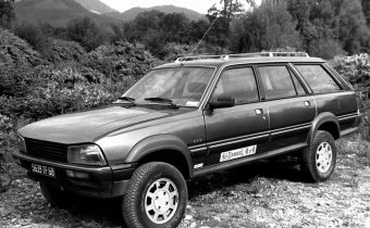 Peugeot 505 4x4 Dangel : la familiale tout-terrain