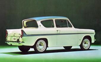 Ford Anglia 105E : l'amie britannique et magique