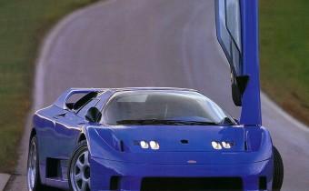 Rinspeed EB110 Cyan: une drôle de Bugatti