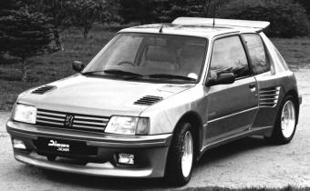 Peugeot 205 Dimma : la folie des largeurs !