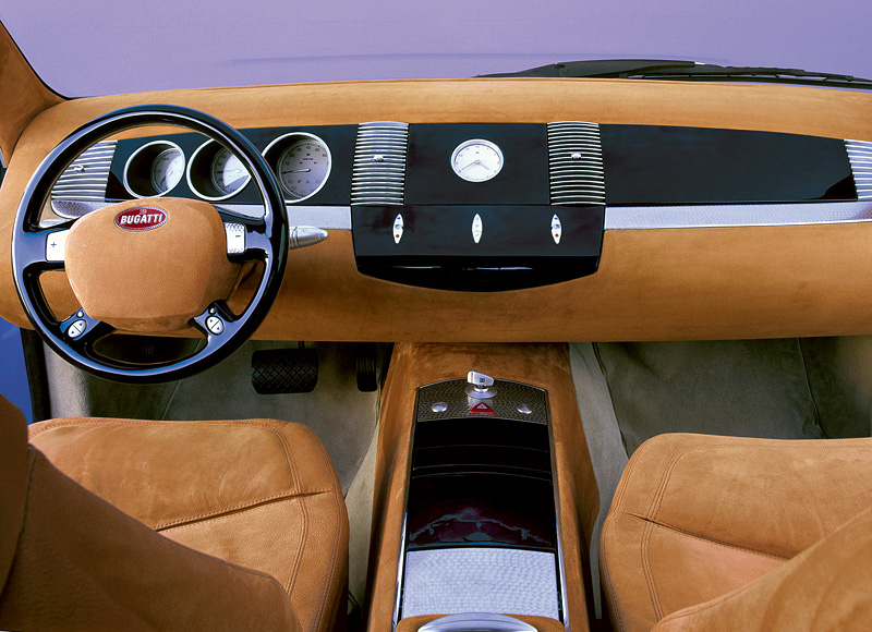 1998 Bugatti EB118 Concept; top car design rating and specifications