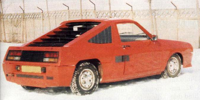 La Dacia MD87 à moteur central arrière !