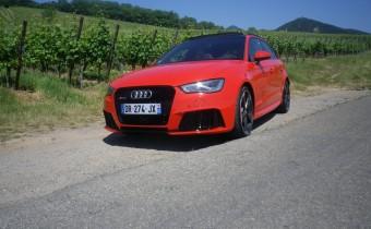 Audi RS3 Sportback : la compacte endiablée