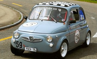 Steyr-Puch 650 TR: une Fiat 500 vitaminée !