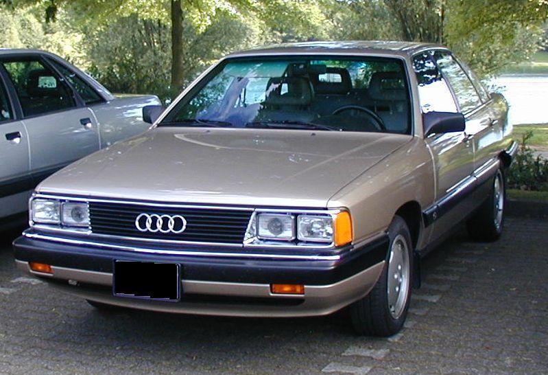 Une Audi 5000 américaine !