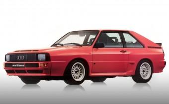 """Audi Sport Quattro : """"transmission"""" intégrale !"""